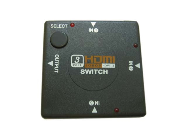 HDMI Mini-Switch 3X1,  Espada HSW0301SS